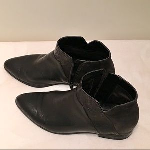 Nine West Leather Ankle Booties